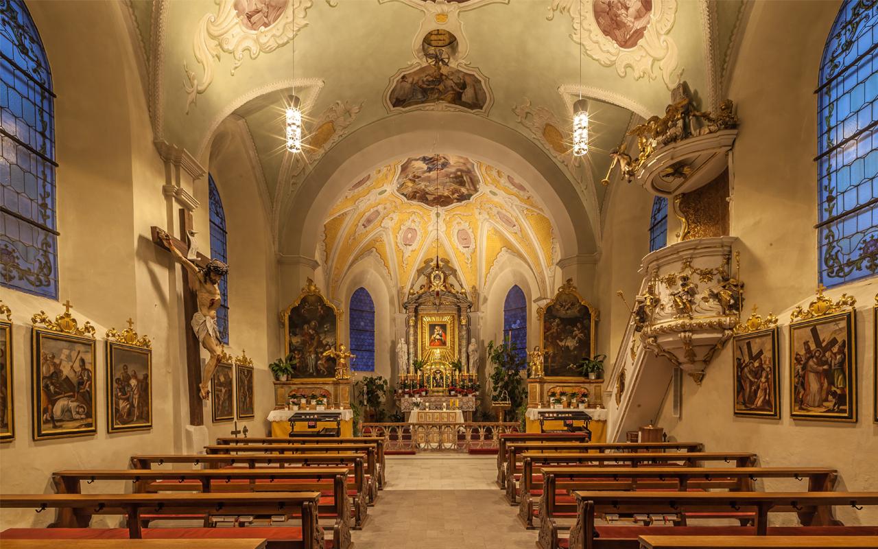 Kirche Kronburg, Zams
